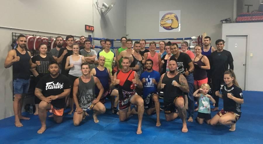 Personal training. Thai Trainer Muay Thai
