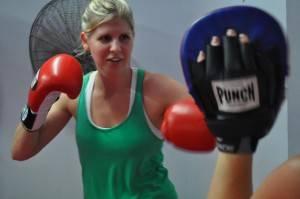 Cardio Boxing Class - Nov 2 2011